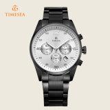 Cronógrafo Homem de Aço de luxo Relógios de quartzo analógico relógio de pulso 72182