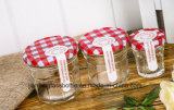 De Kruik van het Glas van Hotsell met de Jampot van het Metaal GLB of Kruik voor Kruidige Hete Saus, het Deeg van het Rundvlees