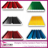 Панели крыши панели сандвича пены EPS цвета стальные