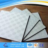 Tuile populaire de plafond de gypse de PVC du modèle 603*603