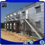 Het gegalvaniseerde Geprefabriceerde Materiaal van het Huis van het Staal Geluiddichte voor het Landbouwbedrijf van de Kip