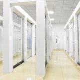 Accessoires de salle de bains porte de large de douche de vue d'acier inoxydable de 1500 millimètres avec des glaces de 8 millimètres