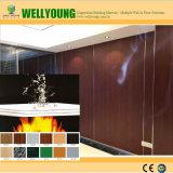 Facile à nettoyer Anti-Wear Panneau mural Lamianted HPL MGO Panneau mural
