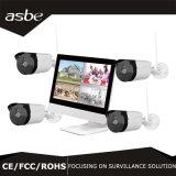 """drahtlose Installationssatz-Sicherheit CCTV-Kamera Gewehrkugel720p p2p-NVR mit 10 """" LCD dem Monitor"""