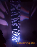 낭만주의 3D 풍화 강철 LED 지면 탑 스크린
