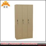 Büro-Metallschrank-Speicher-Schließfach der Gymnastik-3-Door