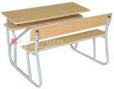 Tabela dobro de madeira da mesa de Seater do fornecedor de Sf-08d-School para a mobília da sala de aula do estudante