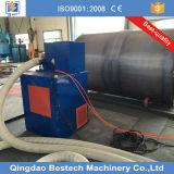 Machine mobile de nettoyage de souffle d'injection de mur intérieur et extérieur de réservoir de stockage de pétrole