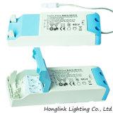 Diodo emissor de luz Recessed avaliado incêndio Downlight da ESPIGA de IP65 10W com a moldura mutável