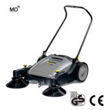 40L mano empujar la barredora Manual/carretera/Calle Sweeper escoba