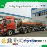 Autocisterna di alluminio del semirimorchio/combustibile dell'autocisterna della lega dell'olio della Cina