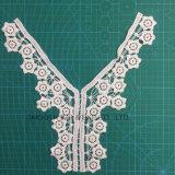 Il collare DIY di accoppiamenti di Applique del cotone del ricamo di modo perfezionamento il tessuto del merletto