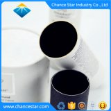 Custom Canister Paper Cosmetic White Tubes Packaging