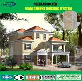 Portátil de acero de la luz de la moderna casa prefabricada con panel solar