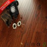 Venta caliente 8mm V Groove Color sólido pisos laminados en madera de roble cerezo