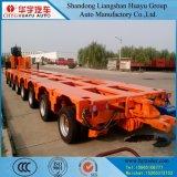 Semi Aanhangwagen van de Lijnen van 100/150/200/300/400 Ton de Multi met de Post van de Hydraulische Druk
