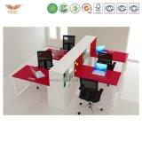 Het Werkstation van het bureau met Meubilair van het Bureau van de Verdeling het Recentste Moderne