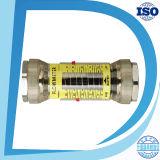 Metro de flujo horizontal de metro de la nómina del agua del interruptor de la alarma del límite superior y más bajo