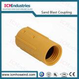 Accoppiamento-Mhe di nylon del Sandblast rapidamente 1 '' accoppiamento di tubo flessibile con la guarnizione