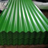 Telhado revestido colorido do metal de JIS G3302 com GV Aaproved