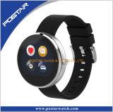 シリコーンバンドが付いている歩数計のスマートな腕時計