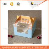 Подгонянная коробка торта сбывания коробки ручки несущей горячая