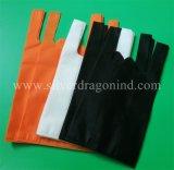 Kundenspezifisches Fabrik-Zubehör-umweltfreundlicher nicht gesponnener Shirt-Beutel, Einkaufstasche