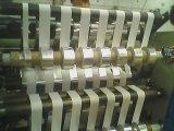 Action d'étiquette contrôlée d'AP fendant la machine de rebobinage
