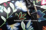 La mode de l'Imitation de la broderie PU Boston Mesdames un sac à main (BDMC196)