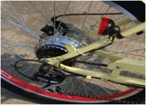 250W女性浜の自転車のための最もよい電動機を搭載する電気ペダルのバイク