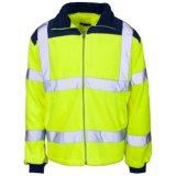 Куртка ватки безопасности высокой видимости высокого качества отражательная с En20471 (C2491)