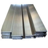 Différents types de tuyaux en acier inoxydable rectangulaire doux