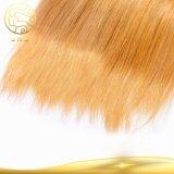 똑바로 Aaaaaaaa 실제적인 처리되지 않은 Virgin 인도 사람의 모발 3 음색 머리