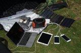 Piscina portátil Lítio Powerstation Solar Gerador do inversor com painel solar 30W