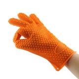中心パターン耐熱性シリコーンの手袋