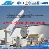 Кран 1t 2t гидровлической яхты морской