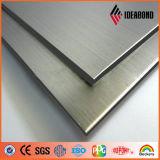 El panel compuesto de aluminio aplicado con brocha del final
