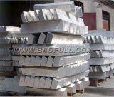 Lingotes de magnésio 99,98% China famoso Fabrico Preço Compective Alimentação