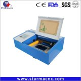 De mini Zegel van de Laser van de Graveur van de Prijs van Co2 40W Goede met SGS FDA van Ce