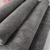 Panni di pulizia grigi scuri d'impolveramento di pulitura per tutti gli usi di Rags Microfiber