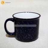 Taza de cerámica modificada para requisitos particulares venta al por mayor del bulto de la taza del esmalte