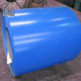 La couleur bleue a enduit la bobine d'une première couche de peinture en acier d'Aluzinc avec le prix raisonnable