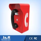 Телефон пожара, телефон тоннеля с Vandal-Proof кнопкой и кнопкой набирать скорости