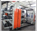 4 colores de tinta solvente máquina de impresión Flexo para rollo de película de plástico (DC-YT4600)