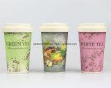 Tazza di bambù sicura della lavapiatti e riutilizzabile della fibra di caffè