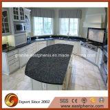 Cucina blu Worktops/Countertop del bello granito Polished naturale