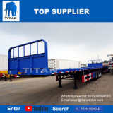 Titan 40 ft ou 20 ft 3 essieux semi-remorque de camion de conteneurs