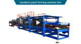 機械サンドイッチパネルの生産ラインを形作るロール
