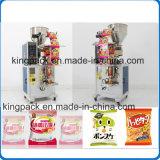 Gránulos vertical de cereales de azúcar en la bolsa de desecante de la máquina de embalaje saquito.