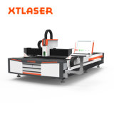Cortador do laser da fibra óptica da máquina de estaca do laser do metal de folha